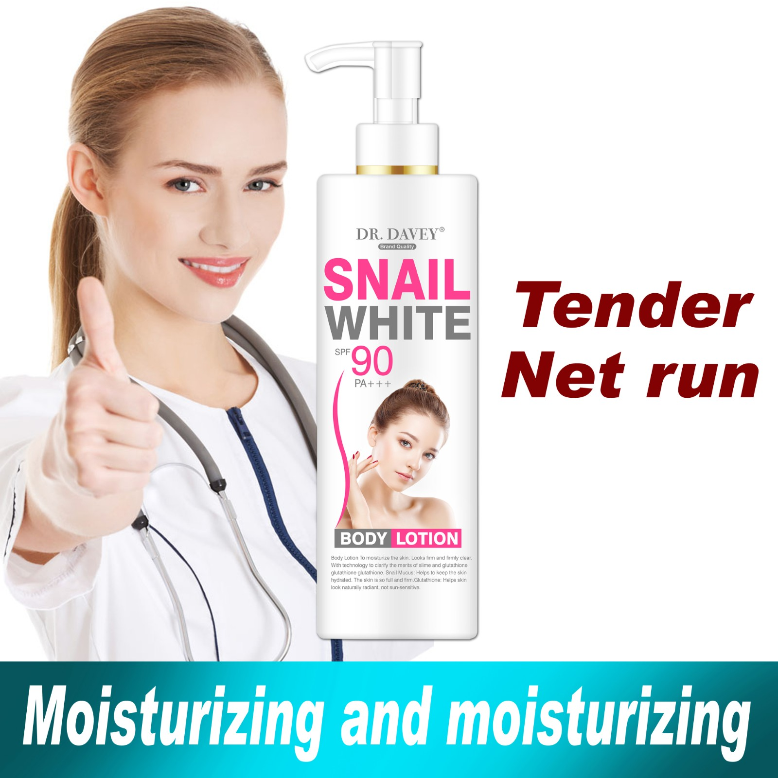 Snail White Body Lotion