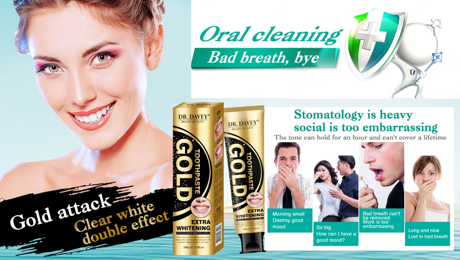 Whitening Cleaning Activated Toothpaste