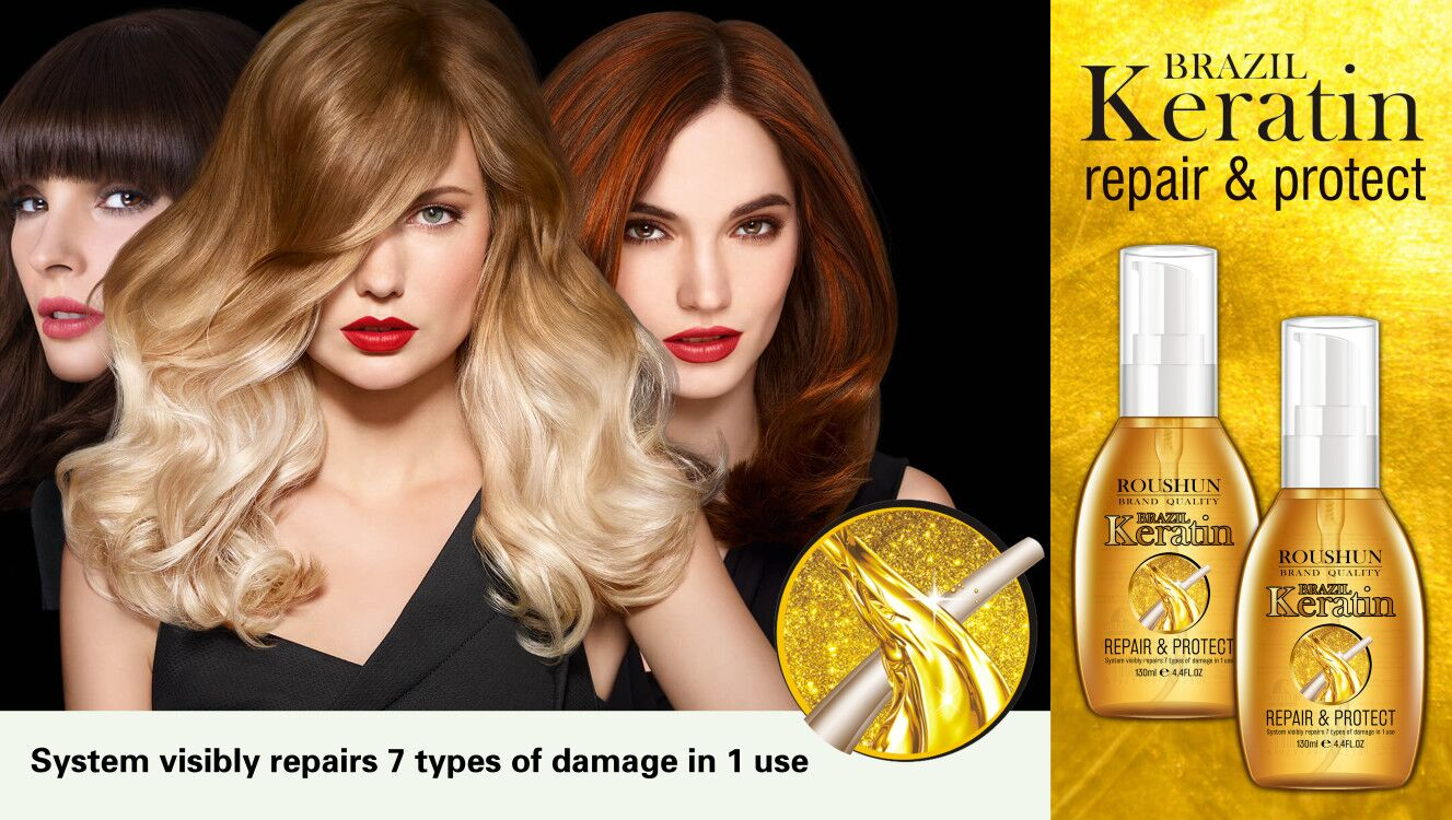 ROUSHUN Keratin Hair Oil