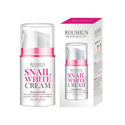 snail extract whitening face cream