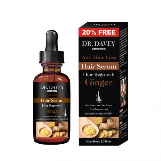 ginger hair re-growth oil