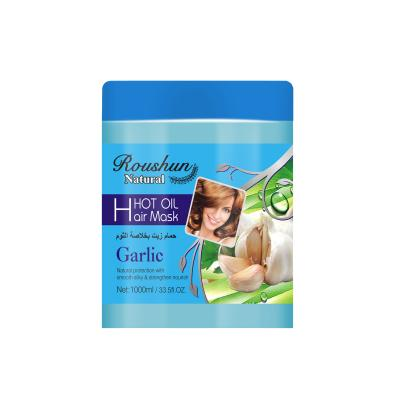 garlic hair mask