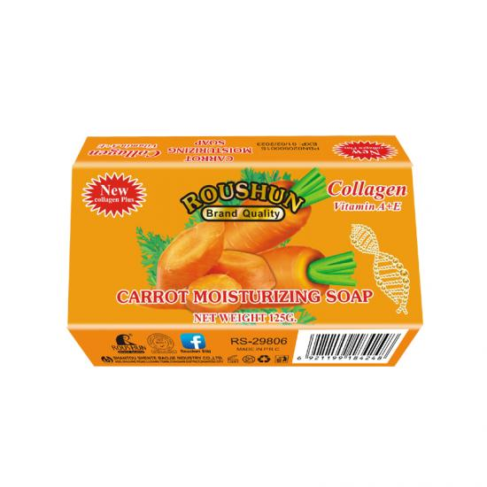 Whitening Pure Carrot Skin Brightening Glowing Soap