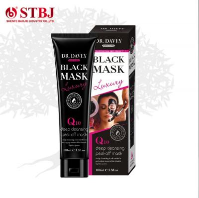 Deep Cleansing Tighten Pores Peel-off Black Face Mask