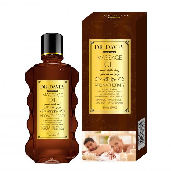 nourishing sensual relaxed body massage oil​