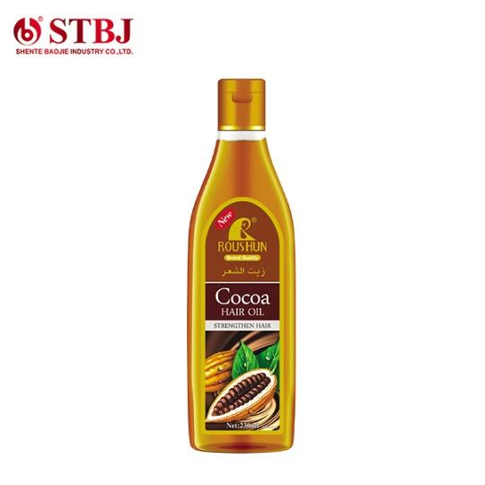 Roushun Contains Repairing And Nourishing Cocoa Hair Oil